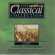 LISZT - PIANO CONCERTO No 1 + HUNGARIAN FANTASIA, LIEBESTRAUM NO 3 ETC - CD 1993