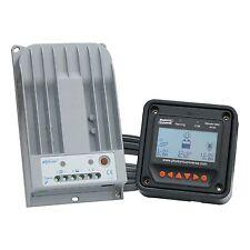 Alta eficiencia 10A controlador de carga solar MPPT con medidor de LCD hasta 150V de entrada