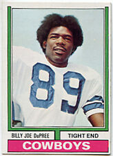 1974 TOPPS # 277 BILLY JO DUPREE NFC NFL Dallas Cowboys