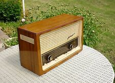 BEAUTIFUL GERMAN TELEFUNKEN ALLEGRO  RADIO,  RESTORED, INCREDIBLE SOUND AM FM SW