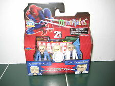 Marvel Minimates Gwen Stacy and Dr. Connors Exclusive Set Amazing Spider-Man