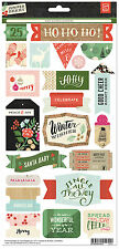 BasicGrey Cardstock Stickers-JUNIPER BERRY TITLES scrapbooking CHRISTMAS HOLIDAY