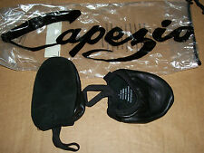 CAPEZIO Sz M Ballet 8 to 9.5 PIROUETTE Slippers HALF Shoes LYRICAL Leather BLACK