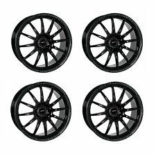 4 x Team Dynamics Black Gloss Pro Race 1.2 Alloy Wheels - 5x114.3 | 17x7"