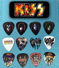 KISS Guitar Pick Tin includes 12 Guitar Picks  *Limited Edition*