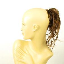 postiche cheveux chocolat méché cuivré clair ref: 22 en 627c peruk