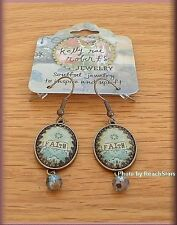 FAITH EARRINGS BY KELLY RAE ROBERTS FASHION JEWELRY FREE U.S. SHIPPING