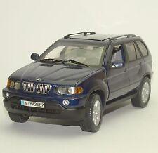 Anson Klassiker BMW X 5 Geländewagen 1999 in dunkelblau lackiert, 1:18, W015