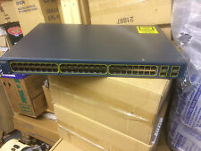 CISCO 3560 WS-C3560-48TS-S 48 PORT SWITCH WITH BRACKETS