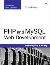 NEW PHP and MySQL Web Development [With CDROM] by Luke Welling Paperback Book (E