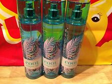 3 Bath And Body Works Cool Amazon Rain Fine Fragrance Body Mist 8 Fl Oz / 236 ML