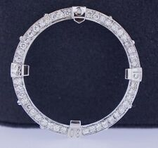 2.50 Carat Round White Diamond Bezel For Breitling Super Avenger Watch ASAAR
