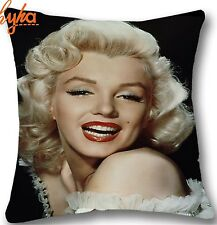 """Hollywood Movie Marilyn Monroe 17"""" Square Cushion Cover Pillow Case Lounge Gift"""