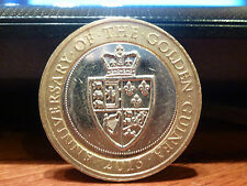 RARE COMMEMORATIVE £2 TWO POUND COIN 2013 GOLDEN GUINEA COIN HUNT /////