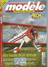 MODELE MAG N°684 PLAN : CAUDRON C600 / PLUG & FLY 41 D'ELECTRONIC / DA 50 R