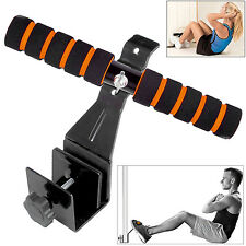 Pull Ups Sit Up Bar Doorway Under Door Attachment Stand Abs Muscle Training GYM