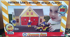 Fireman Sam's Mercury Rescue Playset - Fire Station - 3 + Years ** GREAT GIFT **