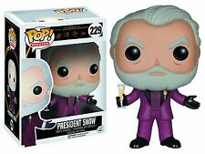 Funko POP Movies Hunger Games #229 President Snow Vinyl Figure NEW