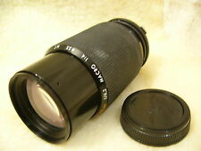 Kiron 80-200mm f/4.5 Macro Zoom Lens in Olympus OM Mount EXCELLENT CONDITION