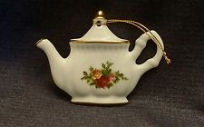 Royal Albert OLD COUNTRY ROSES Teapot Ornament 1962 ~AFTER-CHRISTMAS SALE~