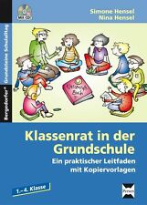 Klassenrat in der Grundschule von Simone Hensel und Nina Hensel  *  PERSEN