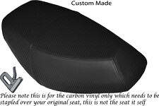 CARBON FIBRE VINYL CUSTOM FITS PULSE SCOUT 50 BOATIAN DUAL SEAT COVER