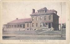 Brooklyn NY * Fort Hamilton Hospital ca. 1908 * U.S. Army  Tinted