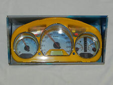 98-02 Honda Accord Euro Dash Eurodash Gauges Cover Cluster Bezel Yellow
