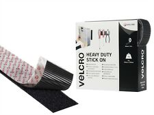 Genuine VELCRO® Brand Self Adhesive Sticky Back Hook & Loop Fastener Tape x 1m