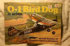 O-1 Bird Dog in Action Squadron Signal Book # 1087 Very Good Condition