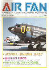 "AIR FAN N°43 REMEMBER ""D-DAY"" /LOCKHEED U-2 /TABLEAUX DE CHASSE DES AS LUFTWAFFE"