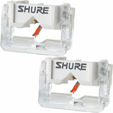 2x Shure N447 Replacement Stylus N44-7 Needle for M44-7 M447 Cartridge