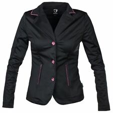 Horka Ladies Victory SoftShell Velvet Crystal Horse Riding Competition Jacket