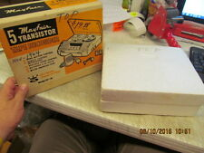 Mayfair 5 Transistor Super Deluxe Tape Recorder - FT-111   from Estate find