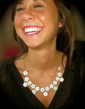 KATE SPADE BRIDAL EXQUISITE CRYSTAL STUD EARRINGS CORSAGE PEARL NECKLACE WEDDING