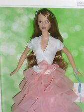 ♪ NRFB 2004 Silver Label Birthday Wishes Barbie Collector Geburtstag Traumkleid