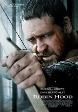 POSTER ROBIN HOOD RUSSELL CROWE RIDLEY SCOTT ACTION #1