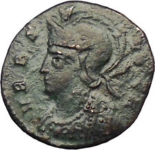 Constantine the Great ROME COMMEMORATIVE Ancient Rare Roman Coin i28989 Soldiers