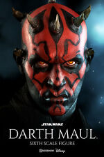 DARTH MAUL Sideshow/Hot Toys 1/6 Figure (Duel on Naboo) ray park LTD STOCK SALE!