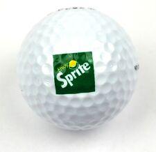 Coca-Cola Sprite USA Golfball weiß grünes Logo - Pinnacle 384 90 White Golf Ball
