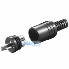2 x LOUDSPEAKER SCREW ON TERMINALS DIN MALE CONNECTORS FOR CAR B&O HIFI AUDIO
