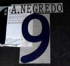 Manchester City A.Negredo Uefa Champions League 2013/14 Football Shirt Name Set