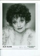 Alix Elias Rock 'n' Roll High School Hooperman Signed Autograph Photo
