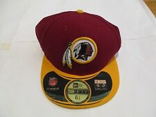 WASHINGTON REDSKINS 59FIFTY CAP BY NEW ERA SIZE ADULTS 6 7/8THS BRAND NEW
