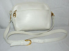 Vintage Etienne Aigner Off-White Genuine Leather Purse/Shoulder Bag/Crossbody