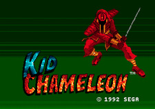 Kid Chameleon - Sega Genesis Game