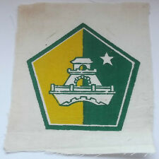 field construction unit   vintage american  vietnam  cloth patch