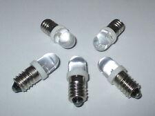 LED Schraubbirne E10 3,5-4,5Volt   5 Stück   *NEU*
