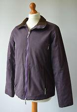 Ladies Barbour MicroFibre  Purple Jacket L22 Fitted Size 10