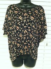 Women's Plus Size Wholesale Lot Of 5 Tops With Flowers